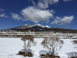 八ヶ岳雪景色